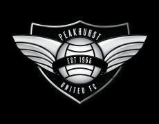 Peakhurst United logo, illustrated 150